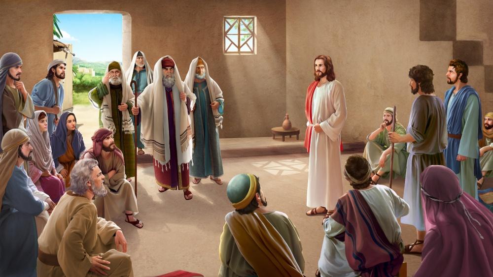 jesus bedeutet er sieht